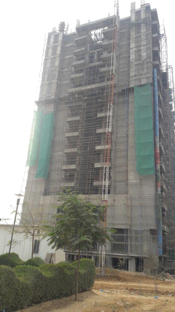 Ashiana Mulberry - Tower T3 External Plaster