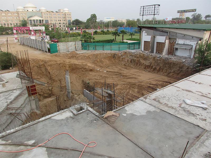 Excavation for Entrance Gate
